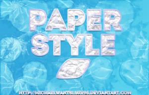 Paper Style by MichaelwantsLuke96