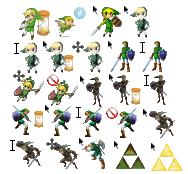 Cursor: Zelda Mass Set by BlastedSpammer