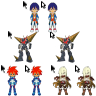 Cursor: TTGL Gurren Lagann Minor Set by BlastedSpammer