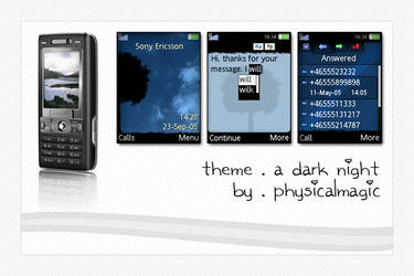 A Dark Night - Mobile Phone by PhysicalMagic