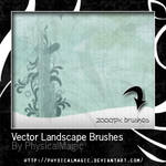 Vector Landscape Brushes.