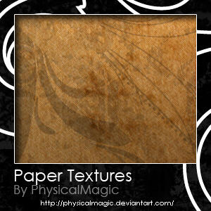 Paper Textures. by PhysicalMagic