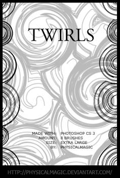 Twirls.