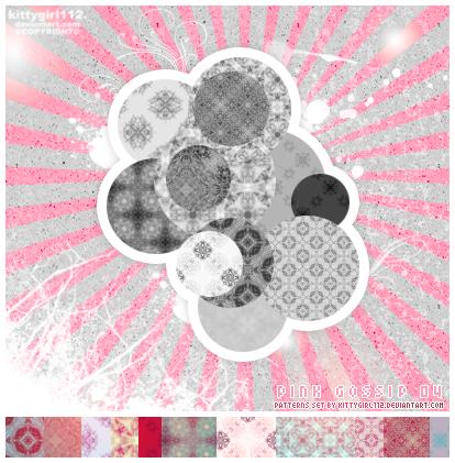 باترنز، باترن للفوتوشوب وللتصاميم ، مكتبة كاملة بروابط مباشرة !! PINKgossip_04_patterns_by_kittygirl112
