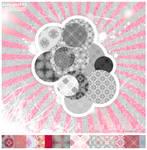 PINKgossip_04 patterns by NicoleHerskowicz