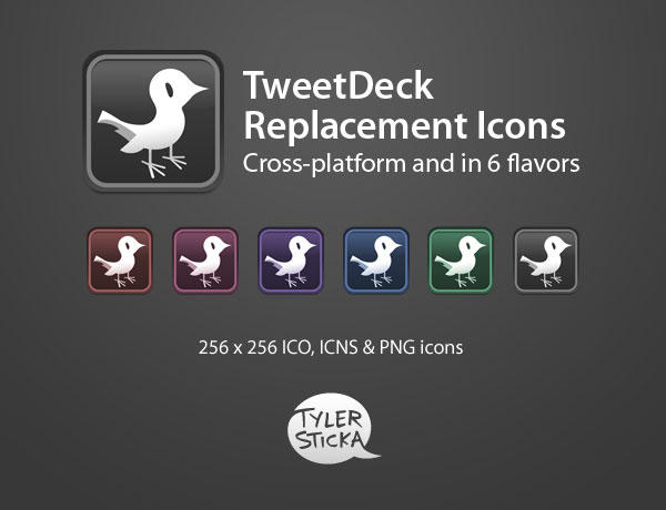 TweetDeck Replacement Icons by tylersticka