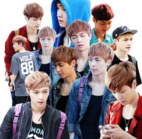 Yixing [PNG PACK] by Deerhansic