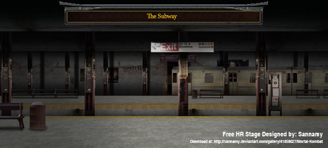 The SubWay (MUGEN STAGE)