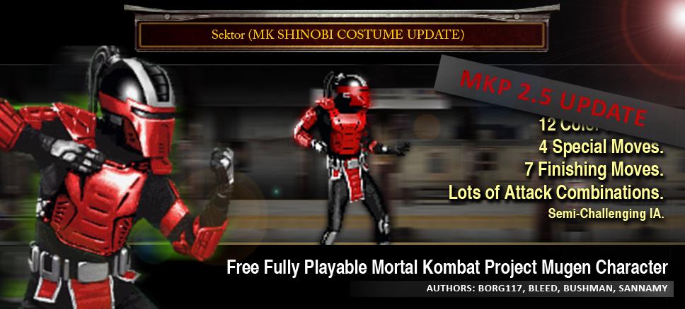 mugen characters download mortal kombat
