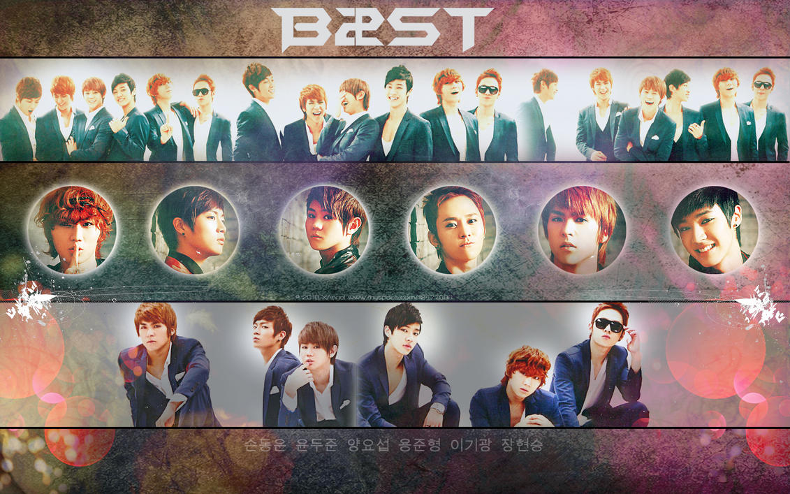 B2ST Wallpaper Crazy Mag by ~o0oxangelo0o on deviantART