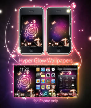 Hyper Glow - iPhone Wallpapers by MysteryE