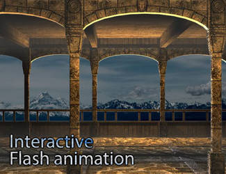 2006 online portfolio: moving content area.