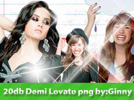 Demi Lovato png Pack by ginnycullen