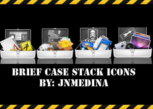 Briefcase Stack icons by BabyMilo15