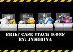 Briefcase Stack icons