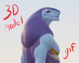3D Seeper Model Turaround