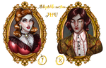 [CLOSED] SALE! auction, vampire adoptables   JHU