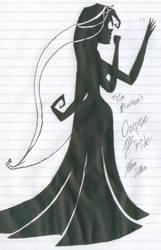 Corpse Bride - Emily by RozeUKun