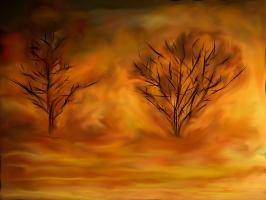 FIRE IN THE SKY by COLOREDINLOVE