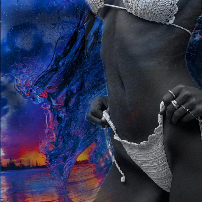 SURFER GIRL by COLOREDINLOVE