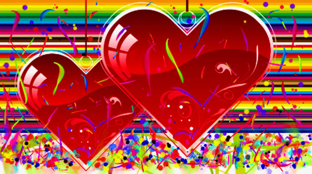 LOVE IS ALL COLORS