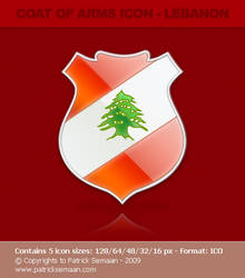 Coat of arms icons - Lebanon