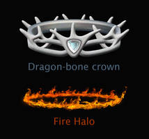 Dragon Crown, Fire Halo (STOCK) by Mr-Ripley