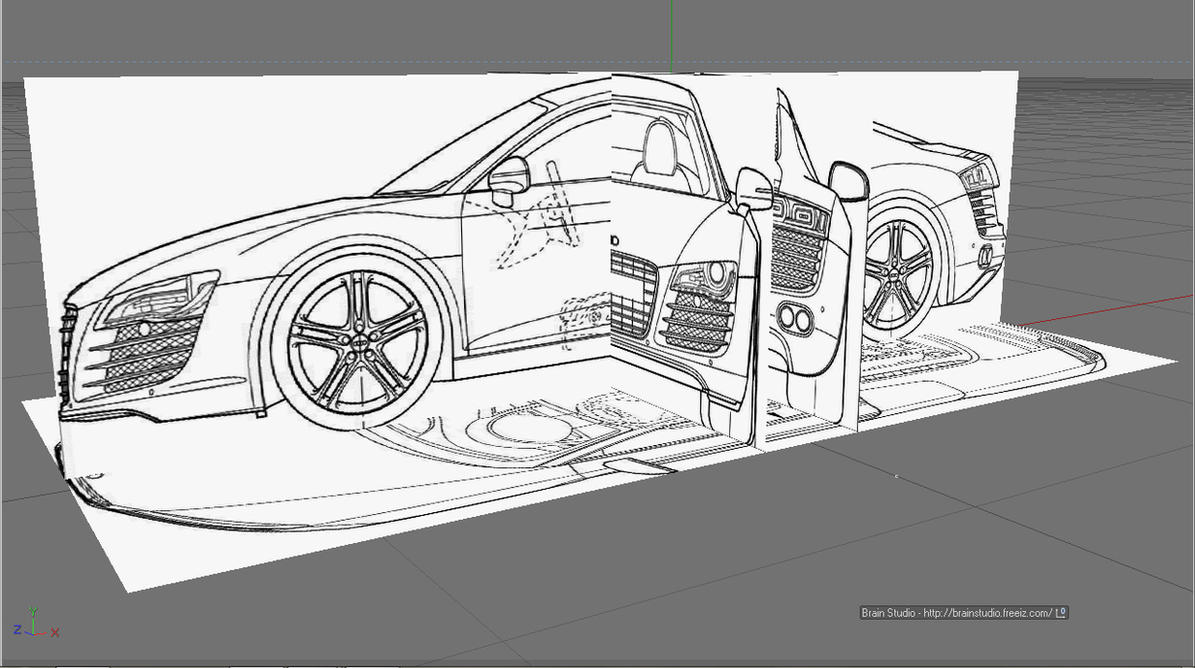 Superior BluePrints Of Audi R8 By Brain Studio ...