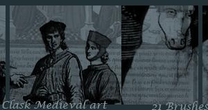 Clask Medieval Art by Byru-Eridanus