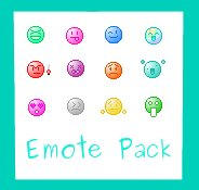 Emote Pack For Contest by Obake-no-Kage
