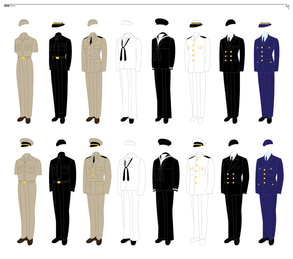 naval uniform template by master at arms on deviantart