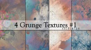 4 Grunge Textures #1