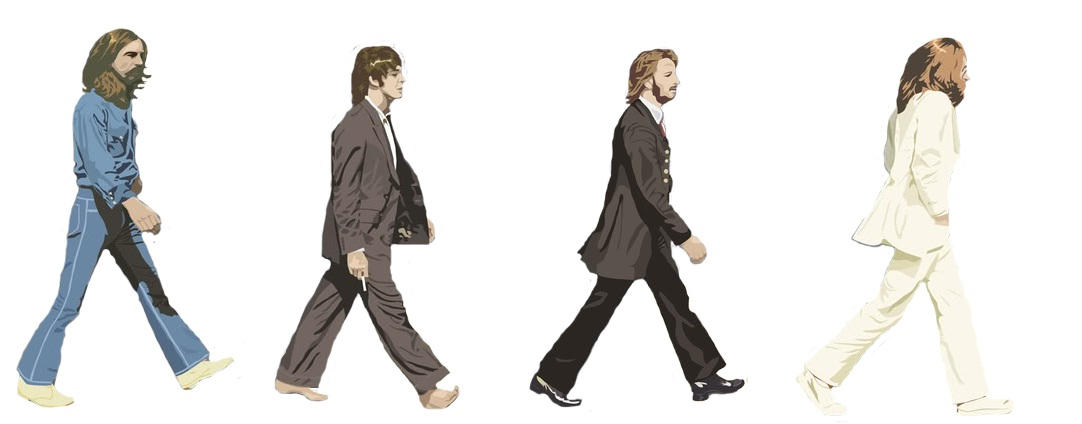 The Beatles Abbey Road Icons By Coltrain12345