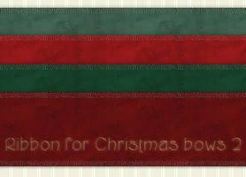 Christmas Bows Ribbons 2 by PhotoImpactPixels