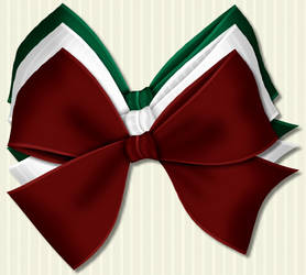 Christmas Bows 4 by PhotoImpactPixels