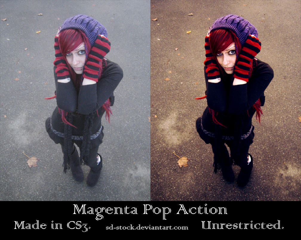 Magenta Pop Action by sd-stock