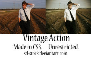 Vintage Action 3 by sd-stock