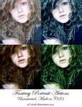 Fantasy Portrait Actions