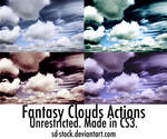 Fantasy Clouds Actions