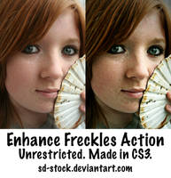 Freckles Action by sd-stock