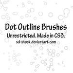 Dot Outline Brushes