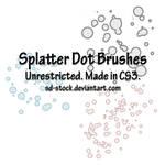 Splatter Dot Brushes