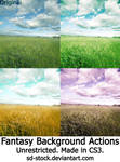 Fantasy Background Actions