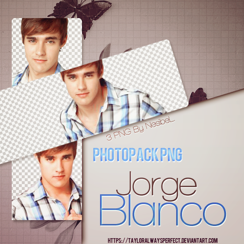 Jorge Blanco PNG Pack by tayloralwaysperfect