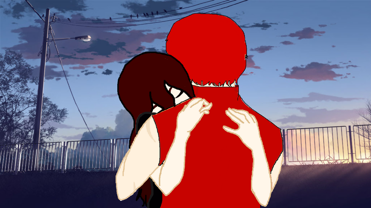 saying goodbye by tfakairi
