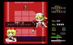 PC-9801-style Rin vs Flandre