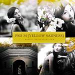 PSD coloring 34 `Yellow Sadness`