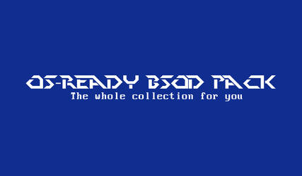 OS-Ready BSOD Pack by GenerixUser