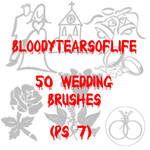 50 Wedding Brushes - PS 7