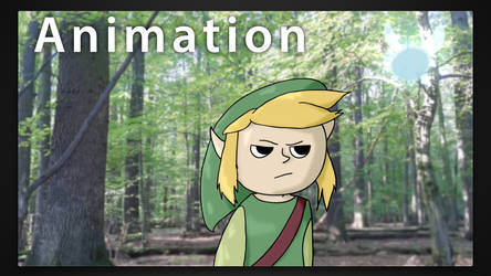 Annoyed Link and annoying Navi - Animation Loop